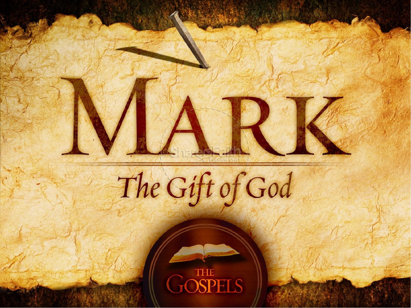The Book of Mark – Chapter 1 Verse 10 ( The Baptism and Temptation